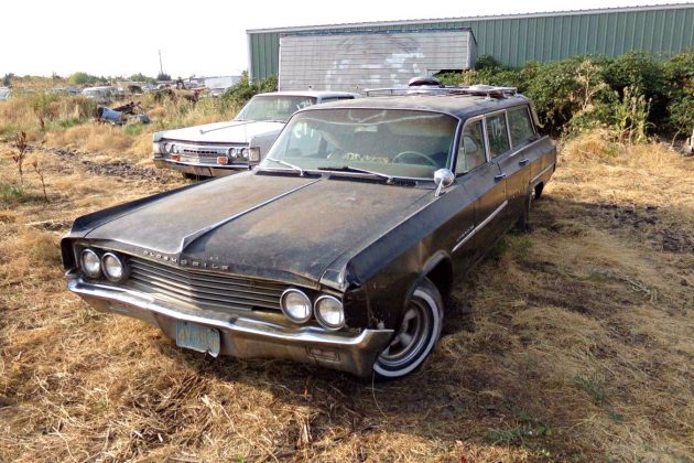 Parts Hauler: 1963 Olds Dynamic 88 wagon