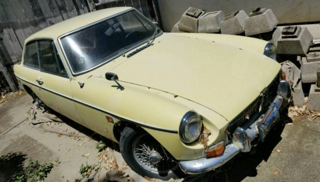 Possible Bargain: 1969 MGB GT