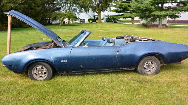 Muscle Convertible: 1969 Oldsmobile 442 Convertible