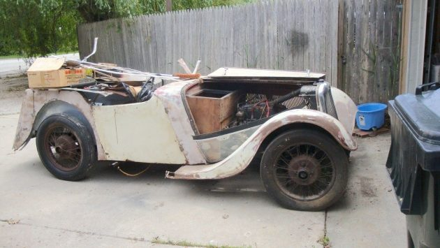 Birmingham Small Arms: 1937 BSA Scout Roadster