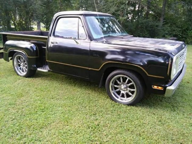 Halloween Comes Early: 1979 Dodge Warlock II Pickup