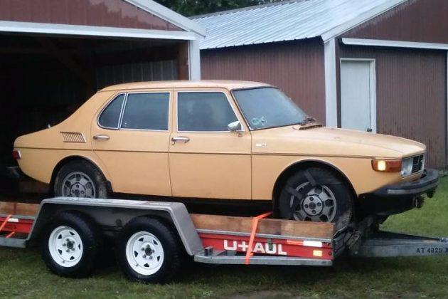 One Owner! 1976 Saab 99GL Barn Find
