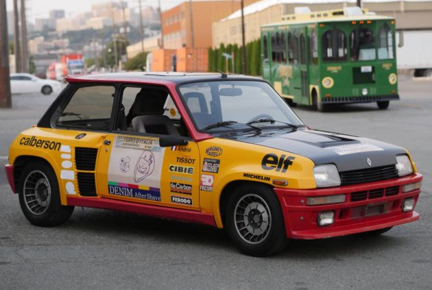French and Therefore Better:  1984 Renault R5 Turbo 2 Rally Replica