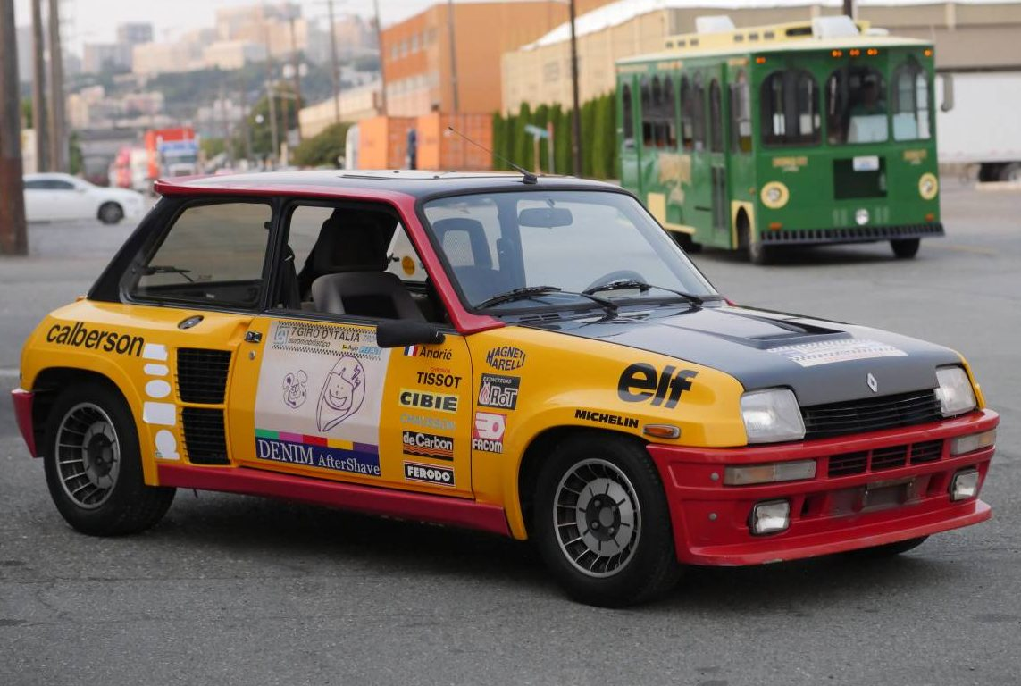 Free Car Advertising >> French and Therefore Better: 1984 Renault R5 Turbo 2 Rally ...