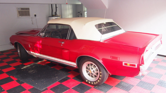 Estate Sale Shelby: 1968 Shelby GT500 Convertible