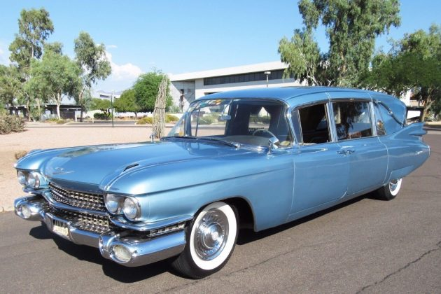 The Last Car You'll Ever Need: 1959 Cadillac Superior Crown Royale Landaulet