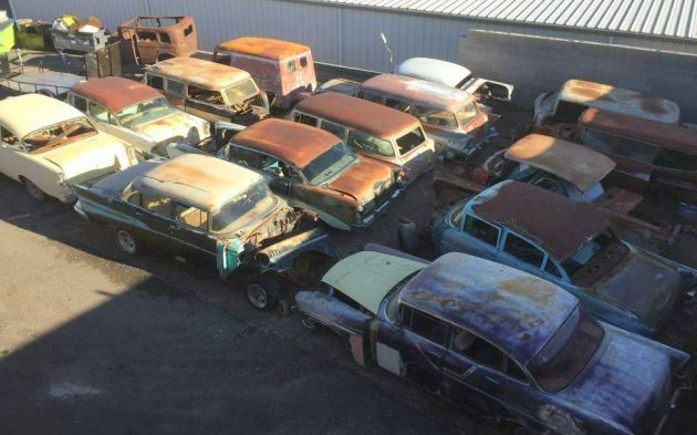 Huge Chevrolet Tri-Five Stash For Sale!