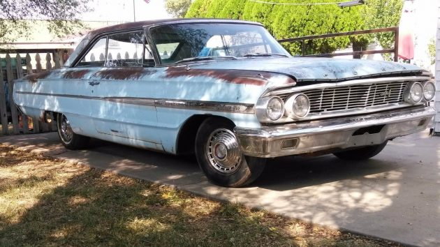 No Reserve: 1964 Ford Galaxie 500
