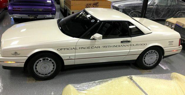 Indy Pace Car Edition: 1992 Cadillac Allante