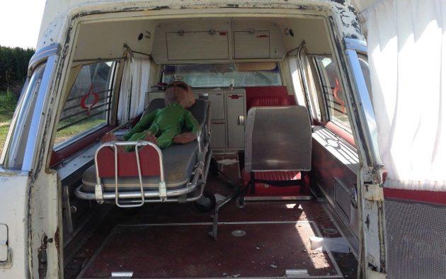 Emergency Boat: 1969 Cadillac Ambulance