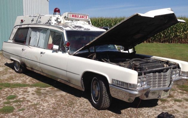 Car Auctions In Illinois >> Emergency Boat: 1969 Cadillac Ambulance