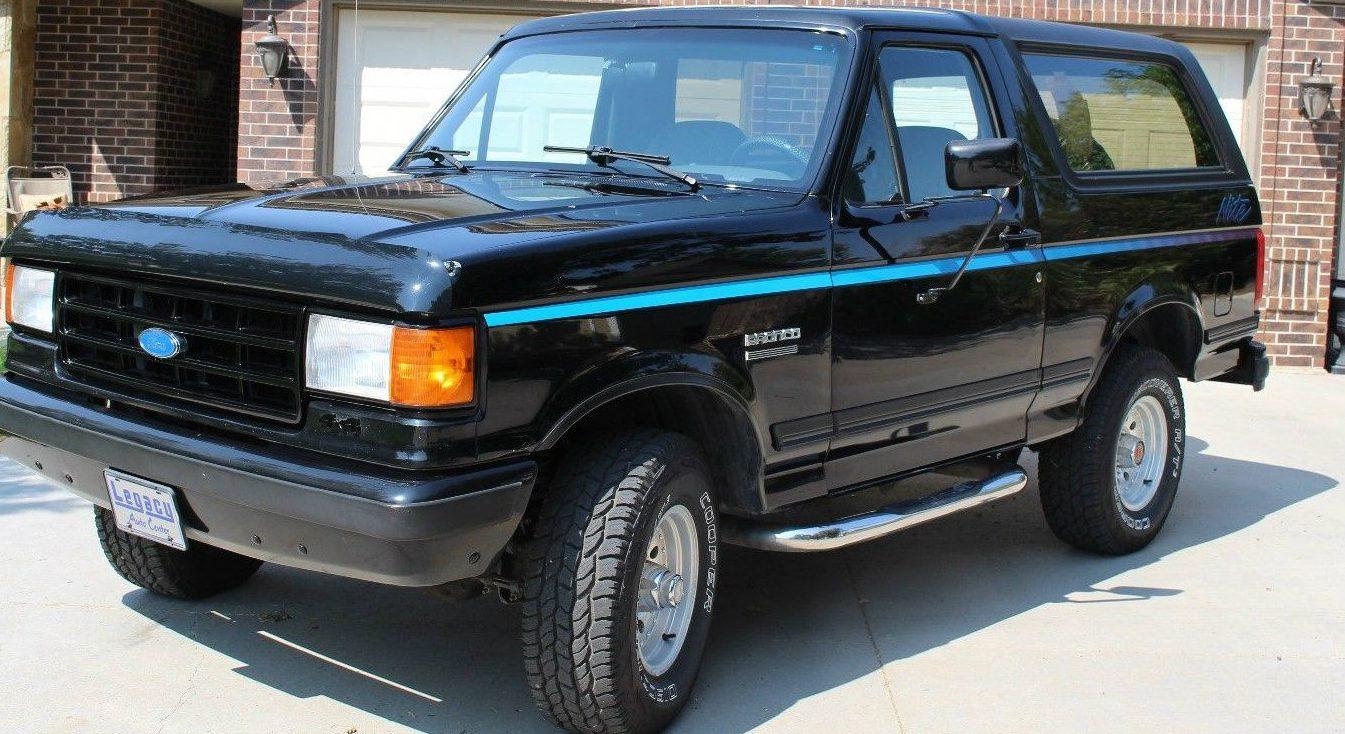 Nite Edition 1991 Ford Bronco