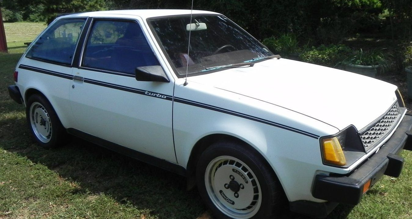one owner gts  1984 dodge colt turbo