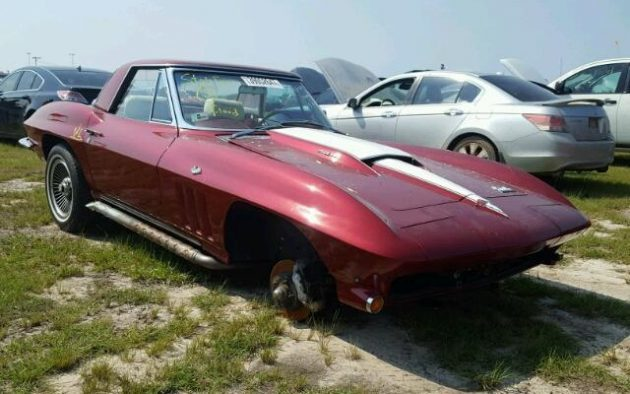 Waterlogged Sting Ray: 1966 Chevrolet Corvette