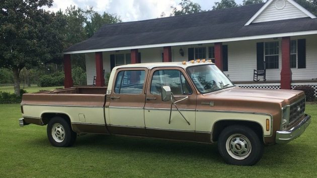 Crew Cab Project: 1979 Chevrolet C20