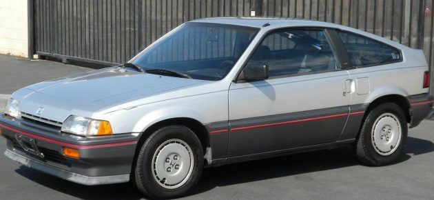 39K Miles From New: 1987 Honda CRX