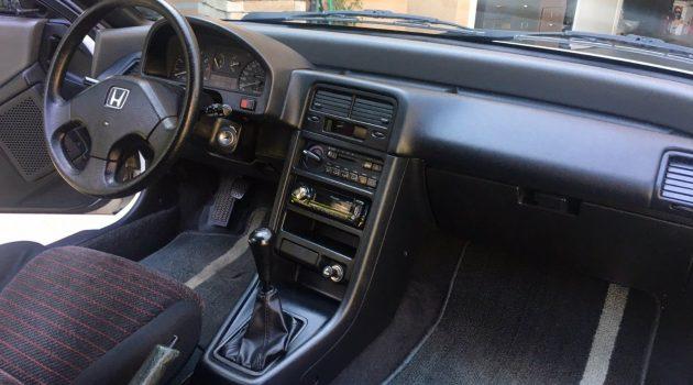 Stock Survivor: 1990 Honda CRX Si