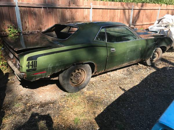 Rusty Muscle: 1970 Plymouth 'Cuda