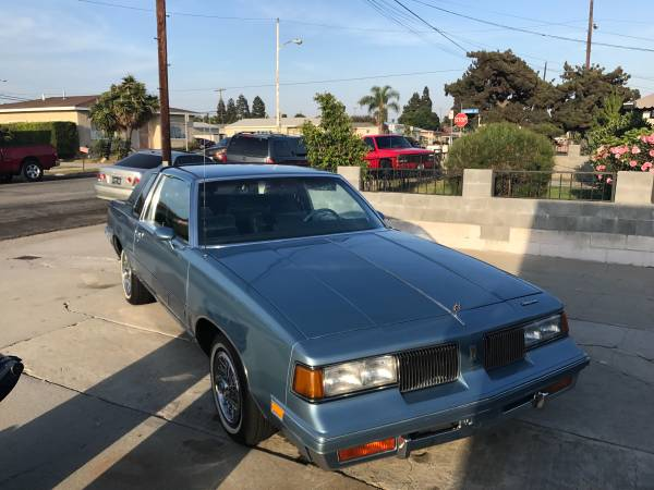 So Fresh & So Clean: Low-Mileage 1988 Oldsmobile Cutlass