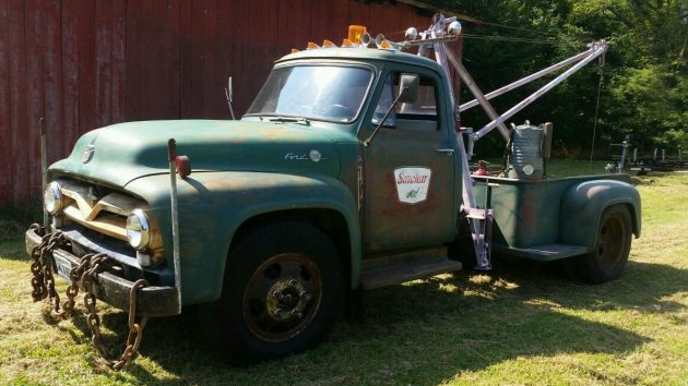 1955 Ford F600 Wrecker… Or Is It?