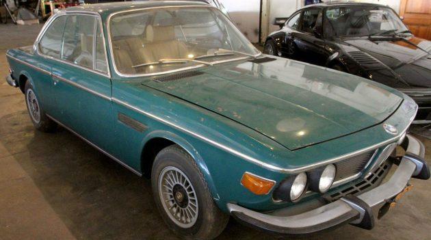 Solid Barn Find E9: 1973 BMW 3.0CS