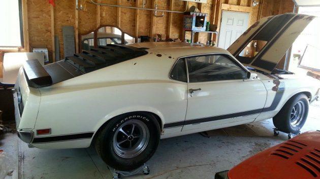 Pole Barn Find: 1970 Boss 302 Mustang