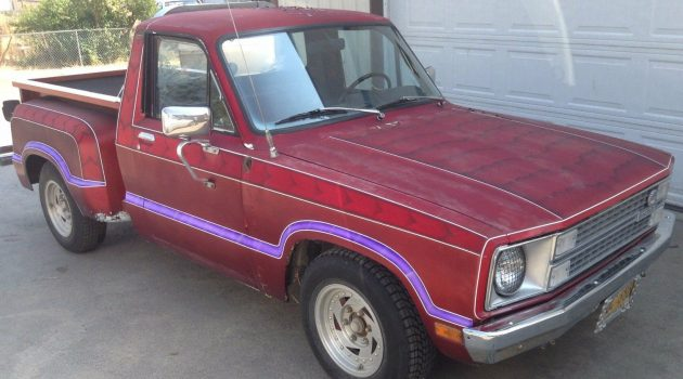 Pumped Up 1979 Ford Courier Stepside