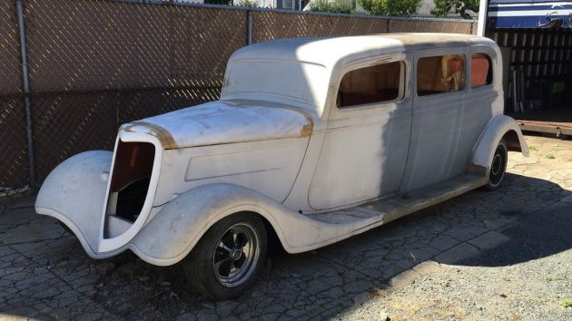 I Didn't Think They Made These: 1933 Ford Limo