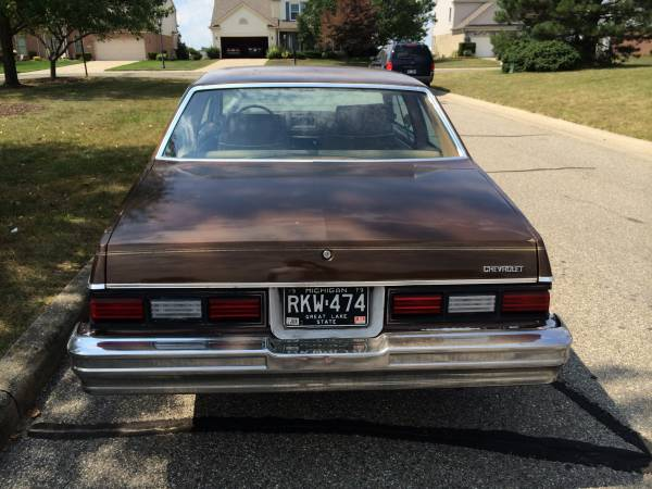 Grandma's Car? 1979 Chevrolet Malibu Classic