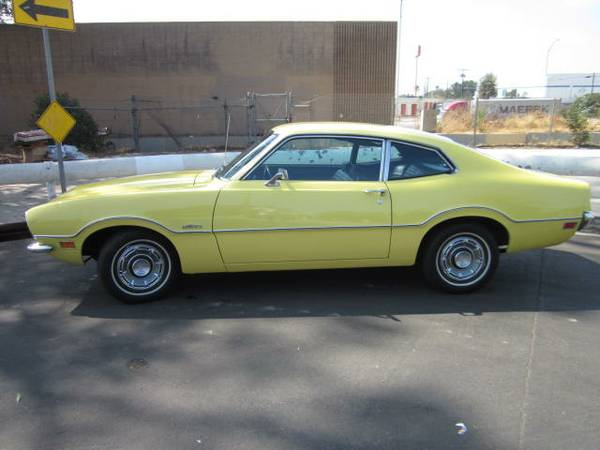 Louise, A Low-Mileage 1972 Ford Maverick