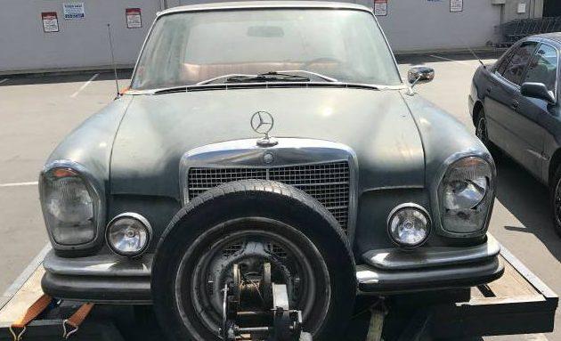 Grey Market Find: 1966 Mercedes 250SE
