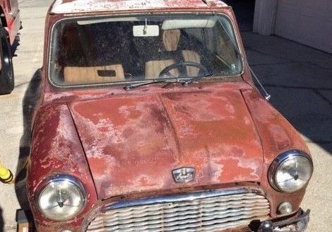 Stored for 30 Years: 1966 Austin Mini
