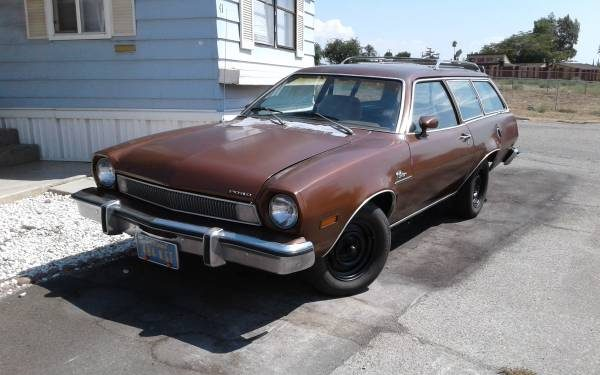 Two-Door Wagon: 1974 Ford Pinto
