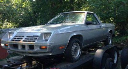 36K Original Miles: 1983 Dodge Rampage
