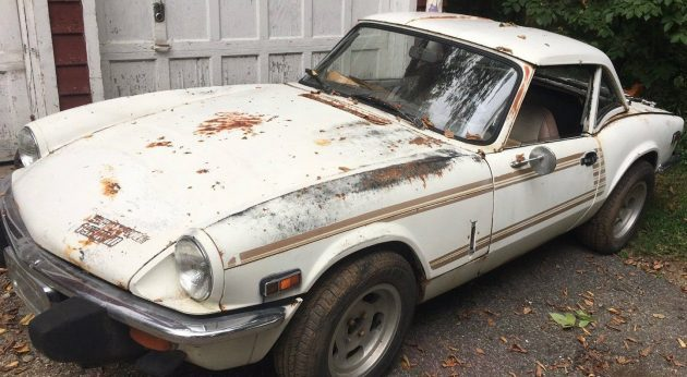 Just a Badge, Man: 1978 Triumph Spitfire