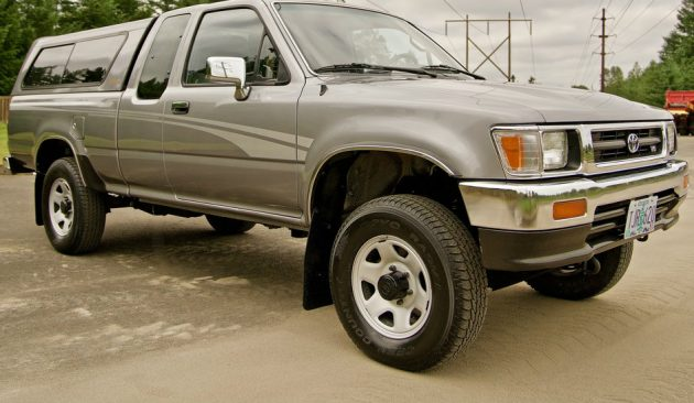 Grandpa Owned: 38K Mile 1993 Toyota Tacoma SR5
