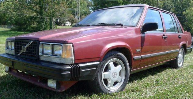 One Owner Turbo: 1987 Volvo 740
