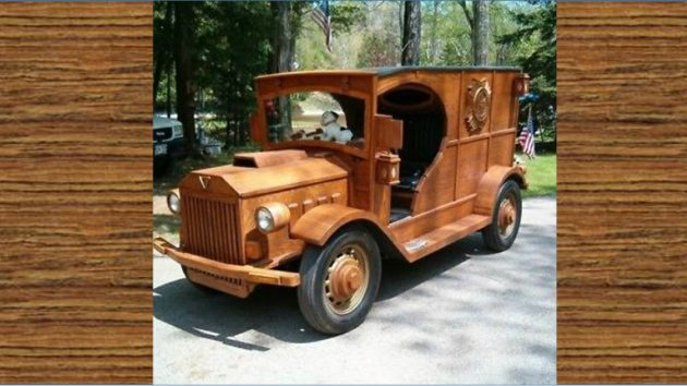 Well, It's A Real Woody! Rebodied 1936 Ford