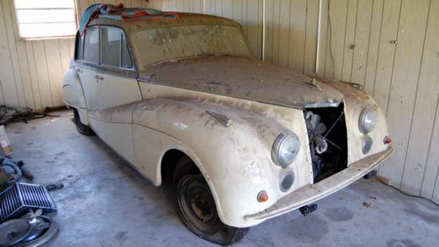 A Jewel: 1960 Armstrong Siddeley Star Sapphire