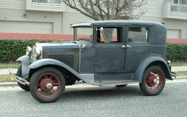 Love Is Blind: 1930 Ford Blind Back