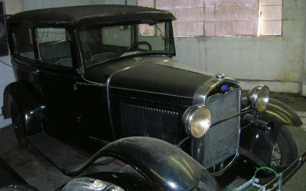 Coal Black In Coal Country: 1931 Ford Model A
