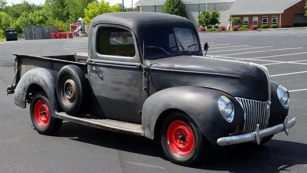 Rugged Good Looks: 1940 Ford Pickup