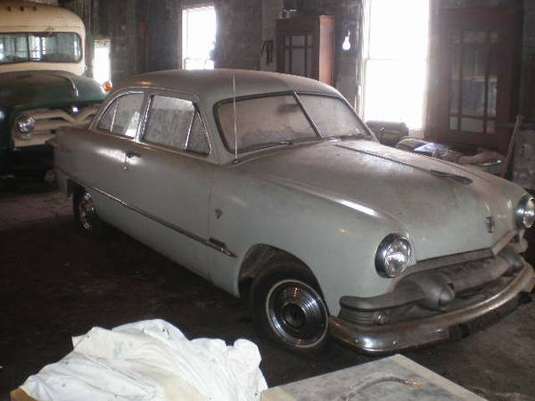 The Terms We Use: 1951 Ford Two Door Sedan