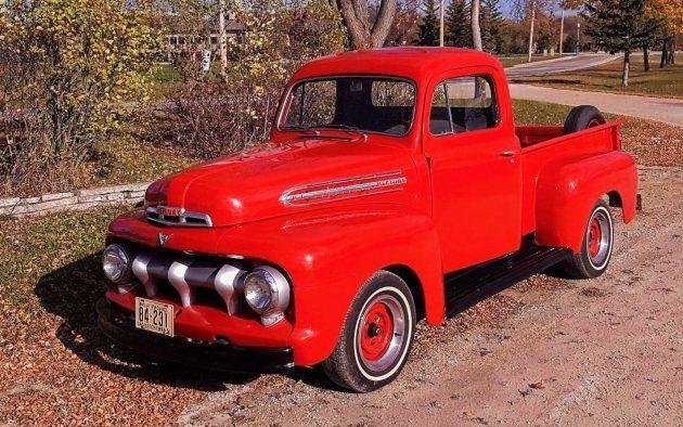 Canadian Beauty: 1951 Mercury M1