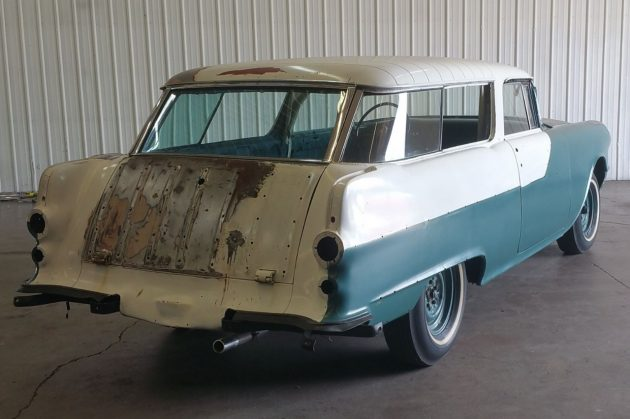 How Much Does It Cost To Paint A Car >> Two-Door Wagon! 1955 Pontiac Safari