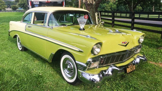 A COPO Bel Air? 1956 Chevrolet Post Sedan