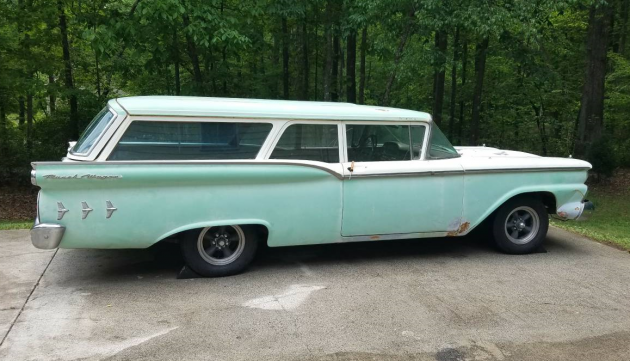Highly Valued Ranch: 1959 Ford Wagon