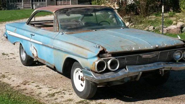 impala 1961 chevrolet bubble barn find barnfinds