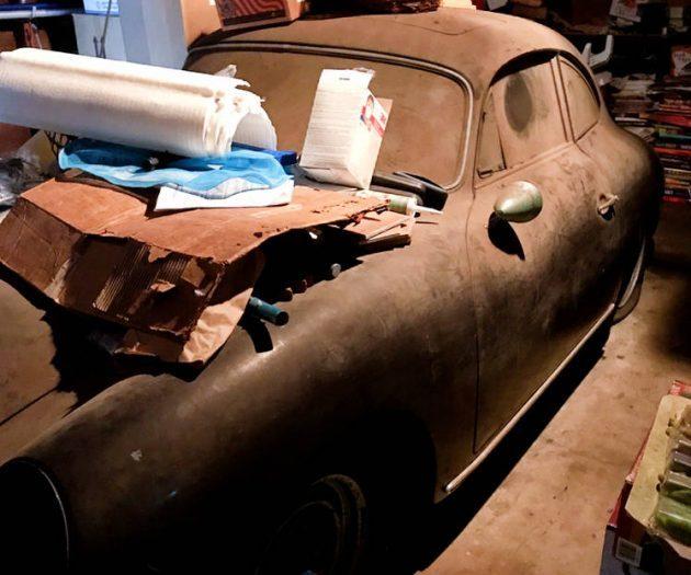 Black Plate 1961 Porsche 356 Super 1600!