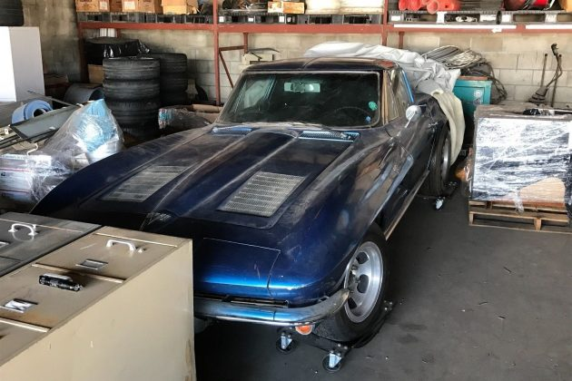 Split window corvette found in hawaii for 1963 split window corvette project for sale